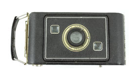 Antique medium format film folding camera Royalty Free Stock Image