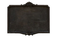 Antique menu board. Royalty Free Stock Image