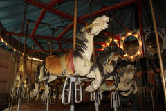 Antique Merry-Go-Round Royalty Free Stock Photography