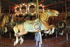 Antique Merry-Go-Round Stock Images
