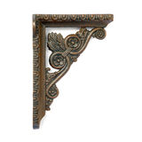 Antique metal angle detail. Royalty Free Stock Image