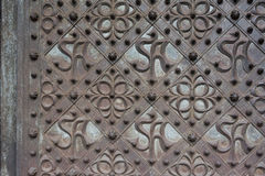 Antique metal background Royalty Free Stock Photos