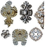Antique metal decorations Royalty Free Stock Photo
