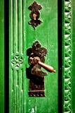 Antique metal doorhandle Stock Photography