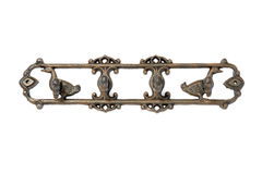 Antique metal hanger. Image Royalty Free Stock Images
