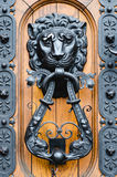 Antique metal knocker royalty free stock image