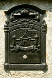 Antique metal mail box Royalty Free Stock Photo