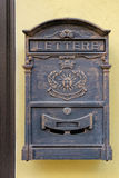 Antique metal mail box Stock Photography