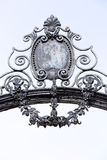Antique metal ornament Stock Images
