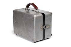 Antique metal portable case Stock Photography