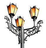 Antique metal street lamp Royalty Free Stock Photo