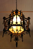 Antique Mexican Chandelier Stock Photography