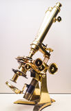 Antique microscope Stock Images