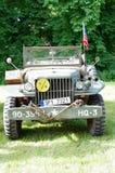 Antique military car Stock Image