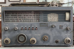 Antique military radio Stock Images