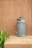 Antique Milk Can Royalty Free Stock Image