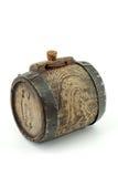 Antique mini wine keg Stock Images