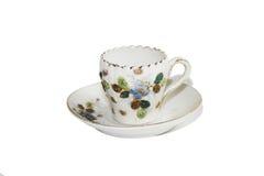 Antique miniature tea cup Royalty Free Stock Photos