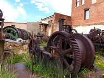 Antique Mining Equipment Royalty Free Stock Images