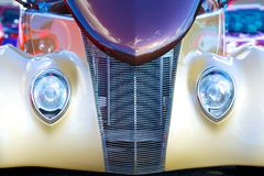 Antique Mint Condition Car Front End Royalty Free Stock Image