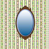 Antique mirror Stock Photos