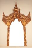 Antique mirror frame Royalty Free Stock Image