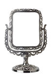 Antique mirror isolated stock photos
