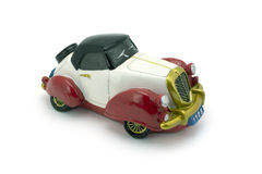 Antique model car. Royalty Free Stock Images