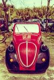 Antique Models - Fiat 500 Topolino Stock Photo