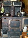 Antique Monarch Woodburning Stove stock photos