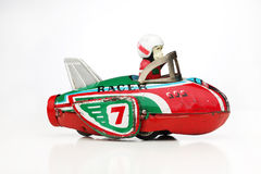 Antique monkey racer Stock Photo