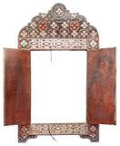 Antique Moroccan mirror Royalty Free Stock Photos