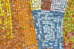 Antique mosaic close up Stock Photos