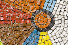 Antique mosaic close up Royalty Free Stock Photos