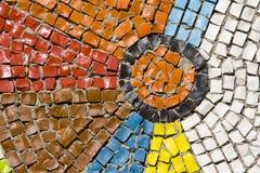 Antique mosaic close up Royalty Free Stock Photos