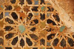 Antique Mosaic Stock Photography