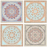 Antique mosaic Stock Images