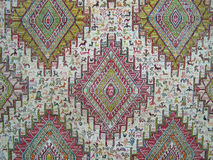 Antique motif carpet, kilim from Anatolia Royalty Free Stock Image
