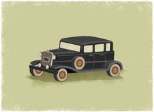 Antique motor car Royalty Free Stock Images