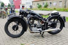 Antique motorbike Royalty Free Stock Image