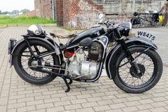 Antique motorbike Royalty Free Stock Photo