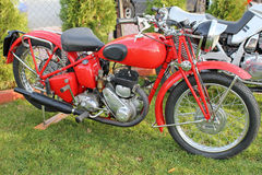 Antique motorcycle Royalty Free Stock Image