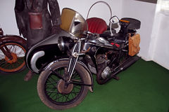 Antique motorcycle brand �Z motorcycle museum Stock Image