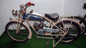Antique motorcycle brand ESKA 98 ccm, 1926, motorcycle museum. Stock Images
