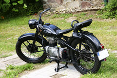 Antique Motorcycle Stock Images
