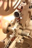 Antique movie projector Royalty Free Stock Photos
