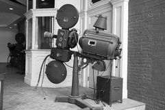 Antique Movie Projector Royalty Free Stock Images