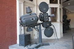 Antique Movie Projector Royalty Free Stock Photo