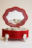 Antique music box Royalty Free Stock Images