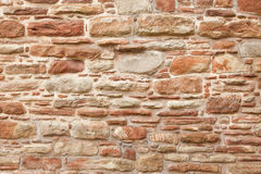 Antique natural stonewall Royalty Free Stock Image